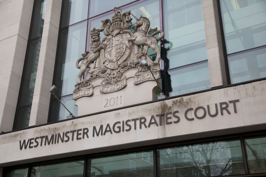 Trans blackmail: Westminster Magistrates Court in London, England, United Kingdom