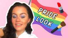 Jecca Blac creates a Pride look