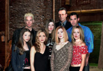 Sarah Michelle Gellar, Alyson Hannigan, Michelle Trachtenberg, Amber Benson, Nicholas Brendon, Emma Caulfield Ford, Anthony Head, James Marsters from Buffy the Vampire Slayer. (2000 Twentieth Century Fox/IMDb)