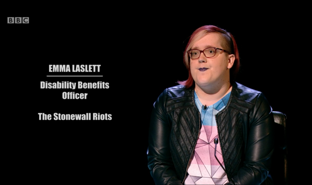 Trans woman gives Mastermind viewers vital lesson about Stonewall riots