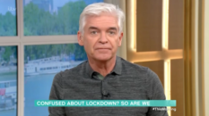 Gay TV presenter Phillip Schofield echoed the anger and confusion felt by Britons after Boris Johnson's coronavirus address was accused of being vague. (Screen capture via ITV)