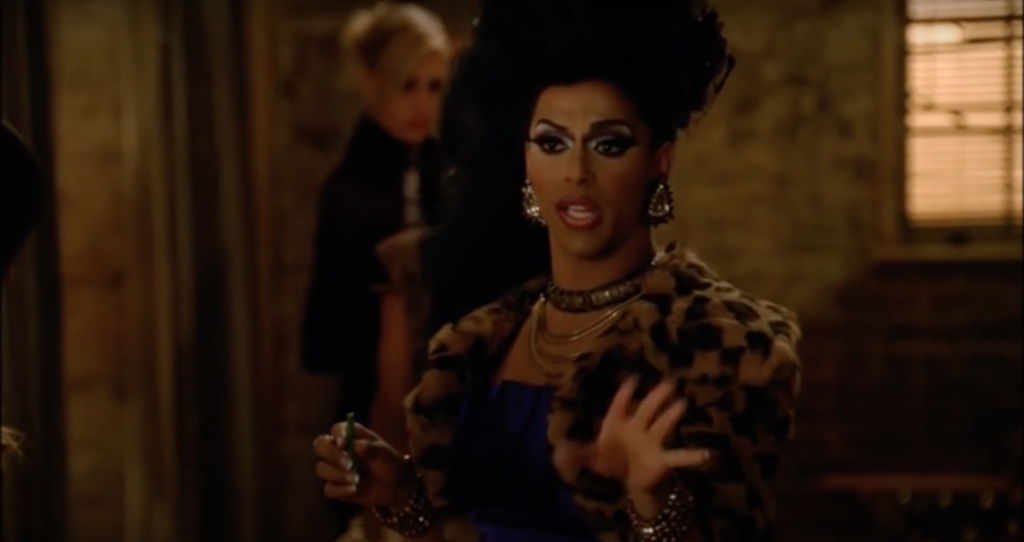 Shangela made a brief cameo. (Screen capture via YouTube)