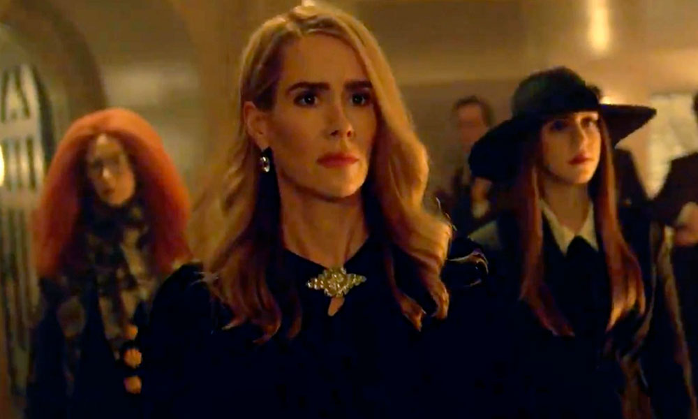 Sarah Paulson, Frances Conroy and Taissa Farmiga in Apocalypse