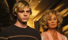 Evan Peters and Jessica Lange in American Horror Story