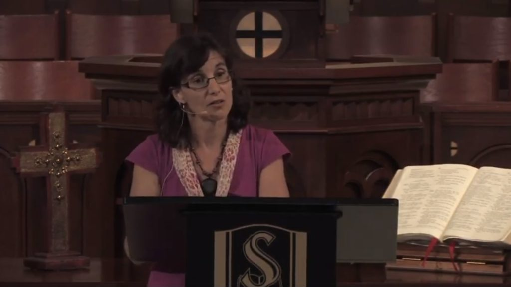 Rosaria Butterfield identified as a lesbian before converting to Christianity and marrying a man