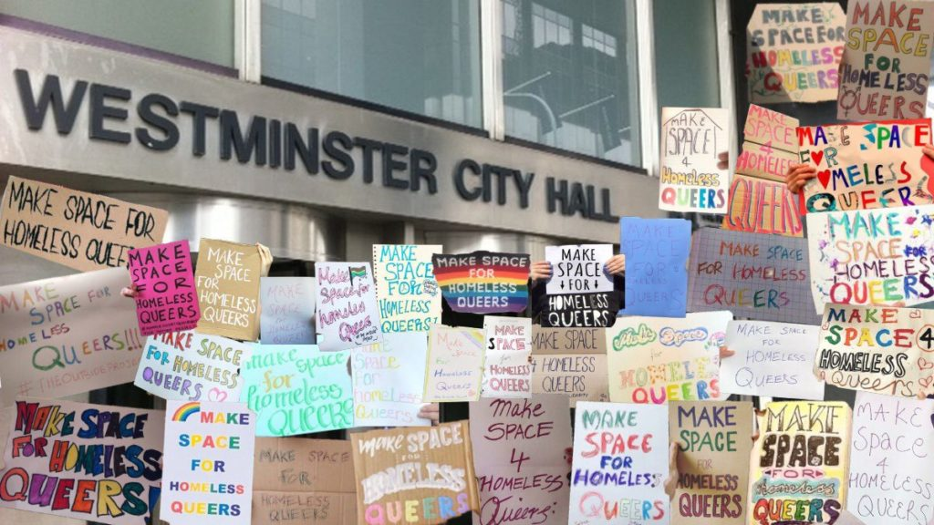 homeless-queer-westminster-council-outside-project-not-priority