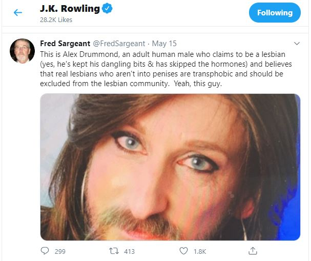 JK Rowling is under fire from fans once again
