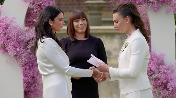 Married at First sight lesbian couple