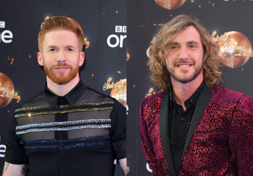 Neil Jones: Gay rumours not true, Strictly star says after Seann Walsh joke