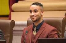 Phillipe Cunningham, a Black transgender man who sits on Minneapolis city council