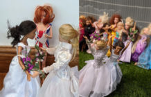 Barbie same-sex wedding