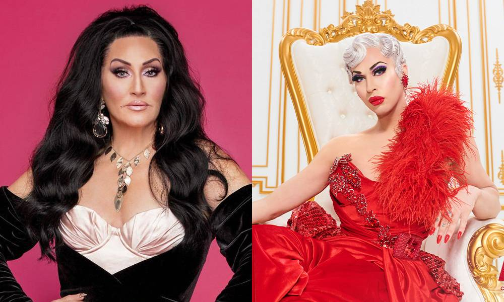 Michelle Visage and Brooke Lynn Hytes