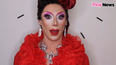 Divina De Campo drag make-up PinkNews Pride for All