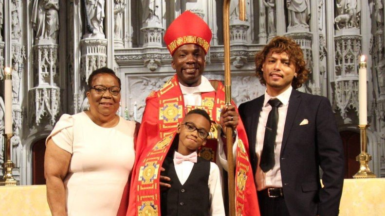 Reverend Deon Kevin Johnson, first gay Black bishop in Missouri diocese