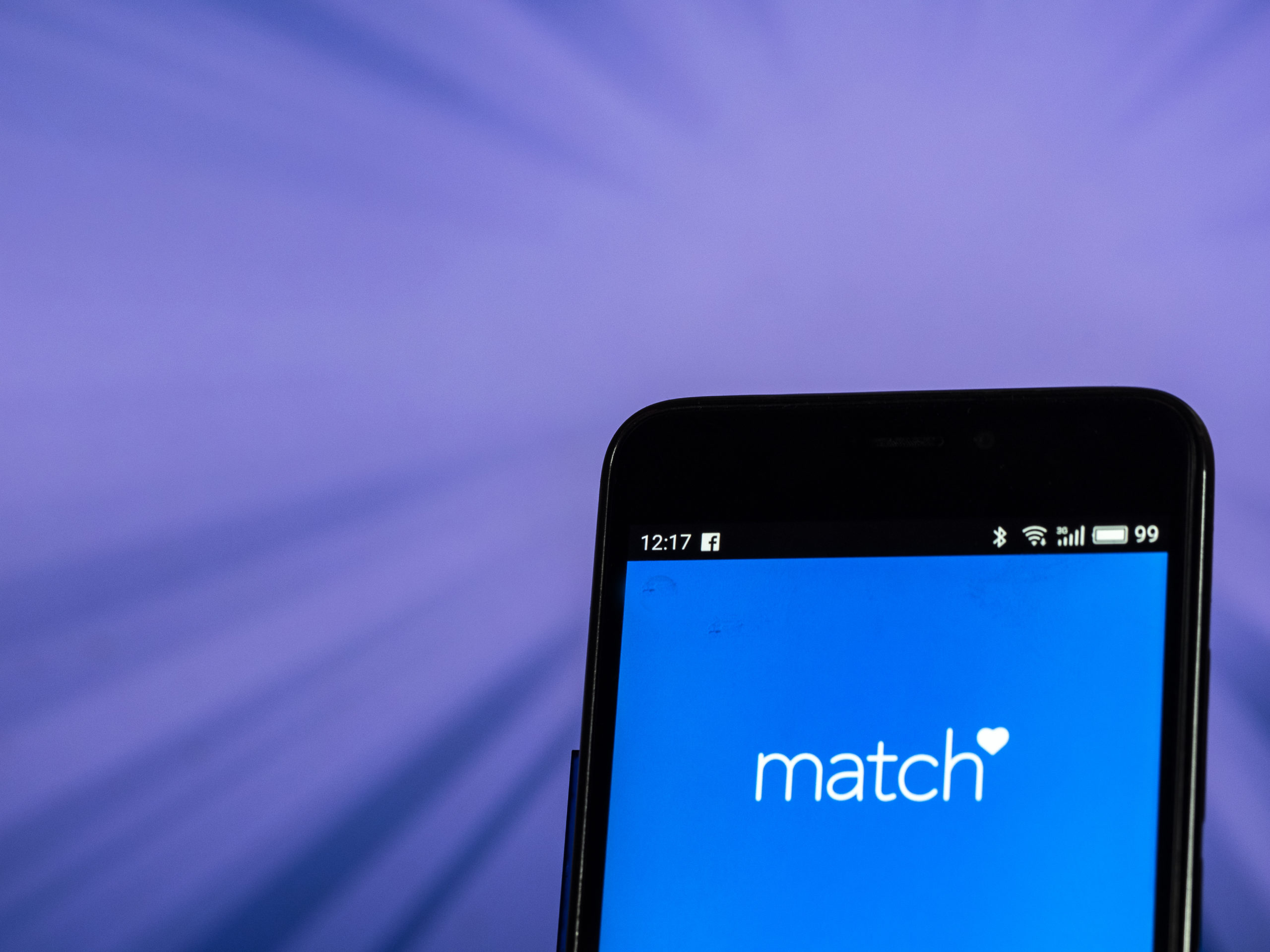 Match is a popular online dating website. (Igor Golovniov/SOPA Images/LightRocket via Getty Images)
