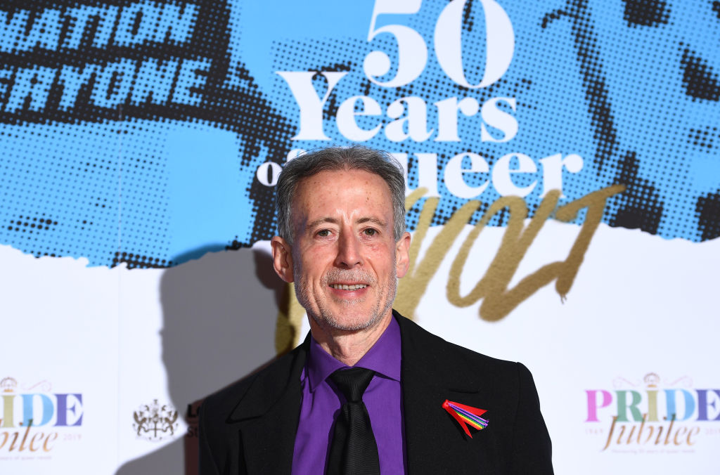 Peter Tatchell attends the Pride In London Gala Dinner 2019