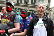 Peter Tatchell during Pride in London 2019