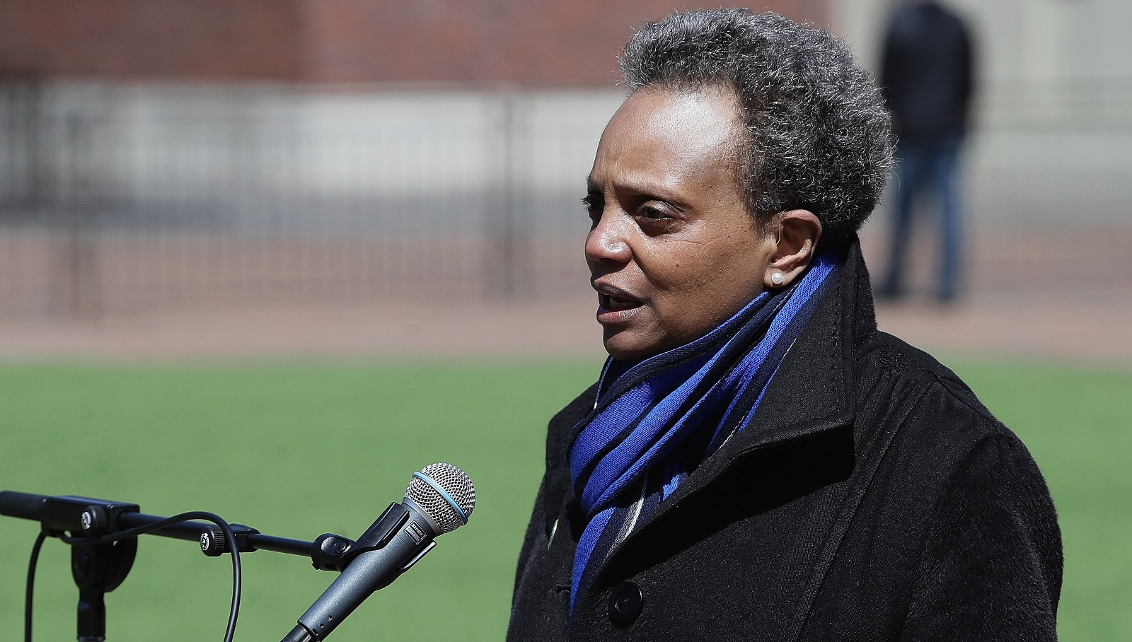 Chicago's Black lesbian mayor Lori Lightfoot vows to find and fire homophobic cop who shouted 'f****t' at protesters