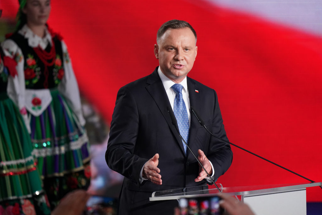 Polish President Andrzej Duda does not have more than 50% of the vote and will face Warsaw Mayor Rafal Trzaskowski in a runoff
