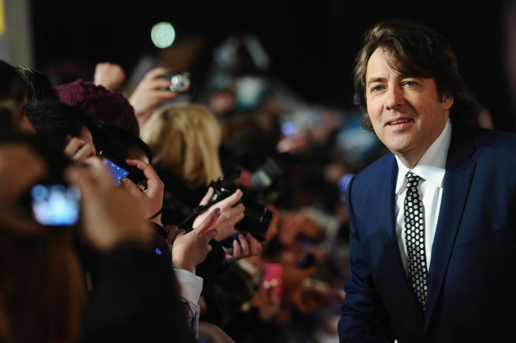 Jonathan Ross has built a storied career from jokes that earn him as much praise as they do scrutiny. (Ian Gavan/Getty Images)