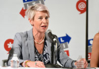 Katie Hopkins. (Joshua Blanchard/Getty Images for Politicon)