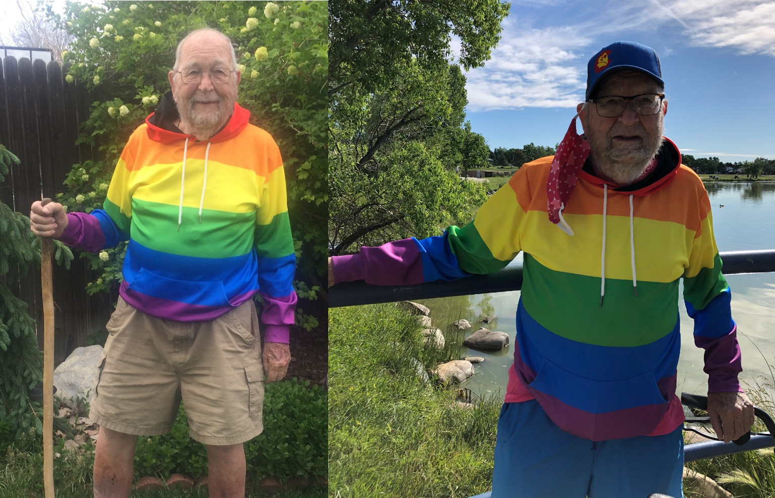 Grandfather bravely comes out as gay at 90 years old, proving it's never too late to embrace your true self