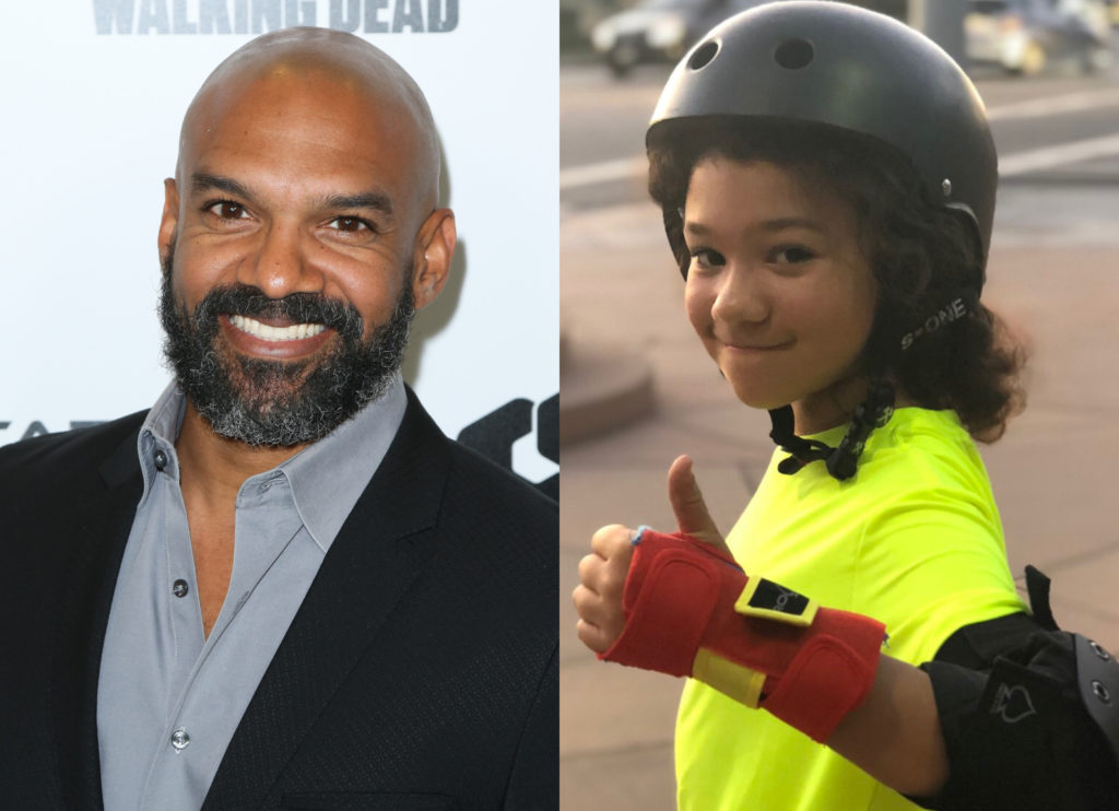 Khary Payton revealed his son, Karter, is trans. (Paul Archuleta/FilmMagic/Instagram)