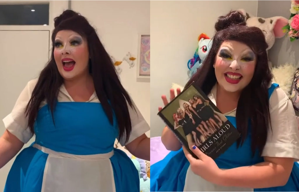 Miss Disney PinkNews Pride for All Beauty and the Beast Mulan