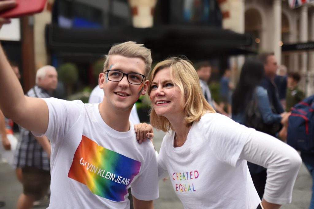 Justine Greening, the first lesbian minster on the British cabinet. (Social Mobility Pledge)