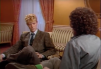David Bowie gave a tutorial on allyship in a 1983 interview touching off racism in music. (Screen capture via YouTube)