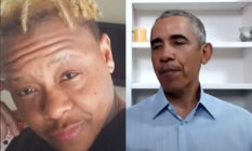 Tony McDade and Barack Obama