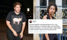Shane Dawson was denounced by Jaden Smith for a crude video of the YouTuber pretending to masturbate over Willow Smith. (gotpap/Bauer-Griffin/GC Images/Edward Berthelot/Getty Images for Christian Dior)