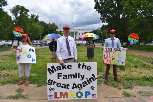 LMNOP: Homophobic hate group pathetically tries to hijack Pride Month