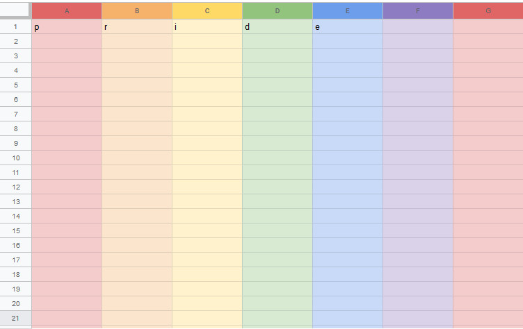 Google Sheets is doing more for Pride Month than Donald Trump