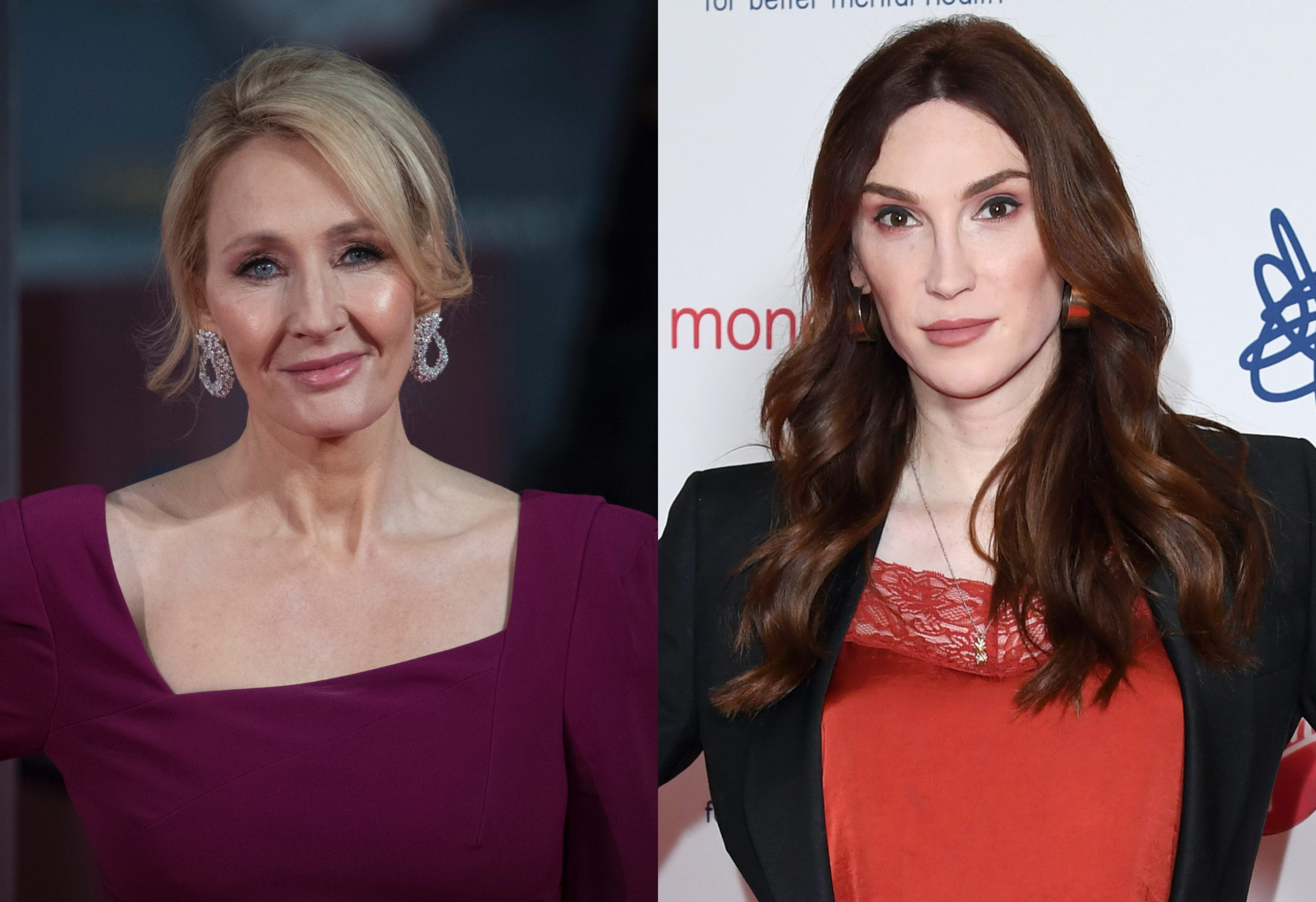 White, cis billionaire JK Rowling sparked fury for her views on trans folk. So Juno Dawson decoded them to show just how anti-trans they are. (John Phillips/Getty Images/Karwai Tang/WireImage)