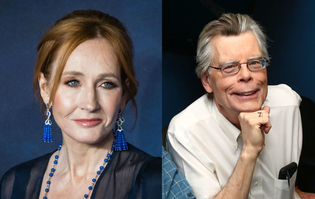 JK Rowling Stephen King