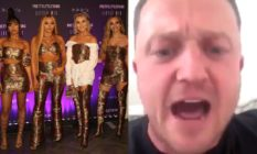 Little Mix and Tommy Robinson