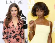Lea Michele (L) was accused of making Samantha Marie Ware's life a 'living hell' by the Glee star. (Rebecca Sapp/WireImage for The Recording Academy/Gregg DeGuire/Getty Images)