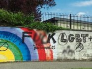 LGBT mural Newbridge Ireland