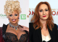 Peppermint (L) ripped into JK Rowling's views on trans people. (Noam Galai/WireImage/Taylor Hill/FilmMagic)