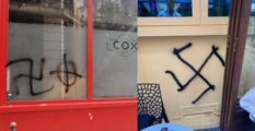 Gay venues Banana Cafe and Cox were both targeted