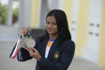 Indian sprinter Dutee Chand. (NOAH SEELAM/AFP via Getty Images)