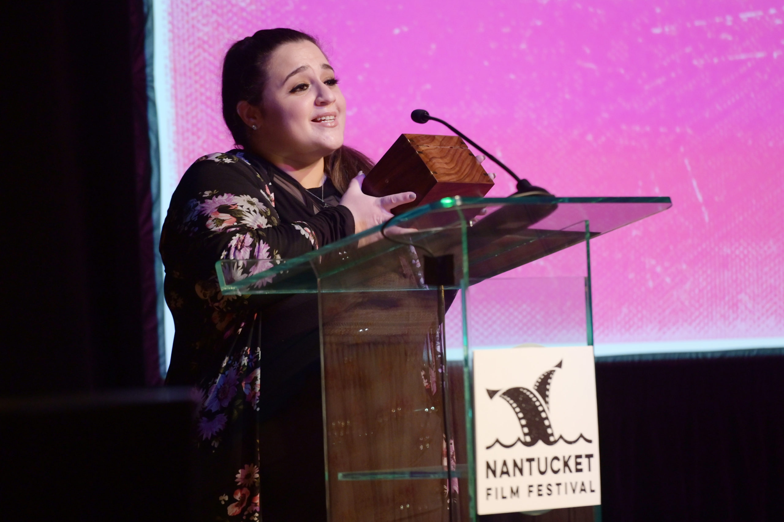 Actress Nikki Blonsky