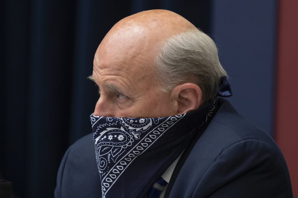 Louie Gohmert attends a US House Natural Resources Committee hearing. (Michael Reynolds-Pool/Getty Images)