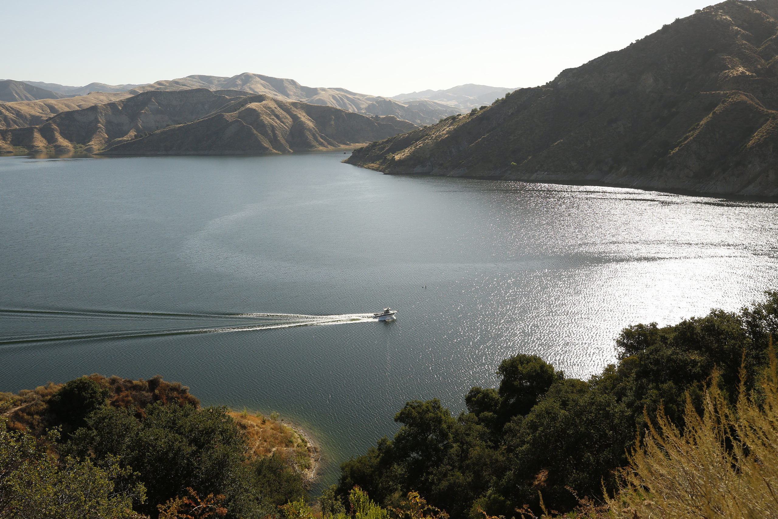Ventura County Sheriffs Search and Rescue dive team located a body Monday morning in Lake Piru