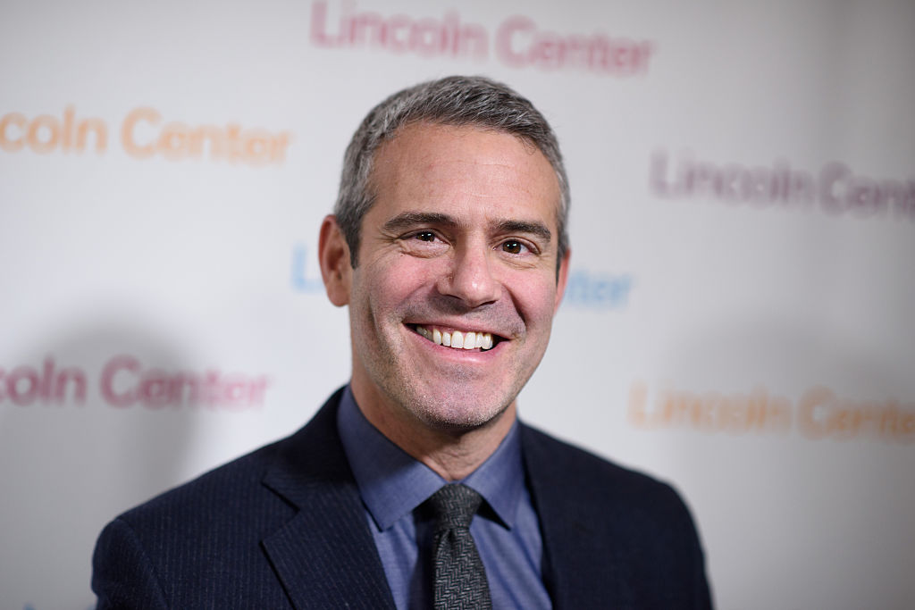 Andy Cohen blood donation