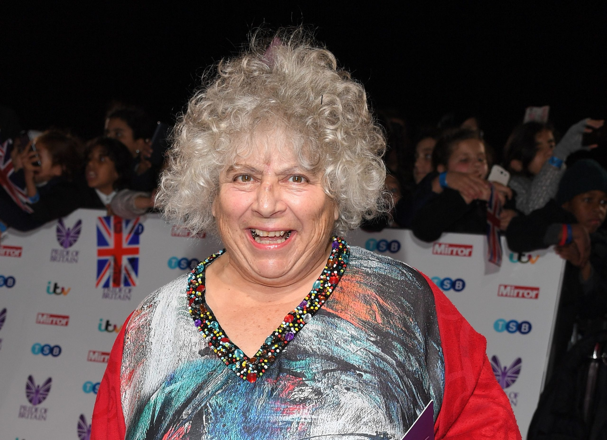 Harry Potter star Miriam Margolyes distances herself from JK Rowling as she urges people not to be 'fascist' about gender