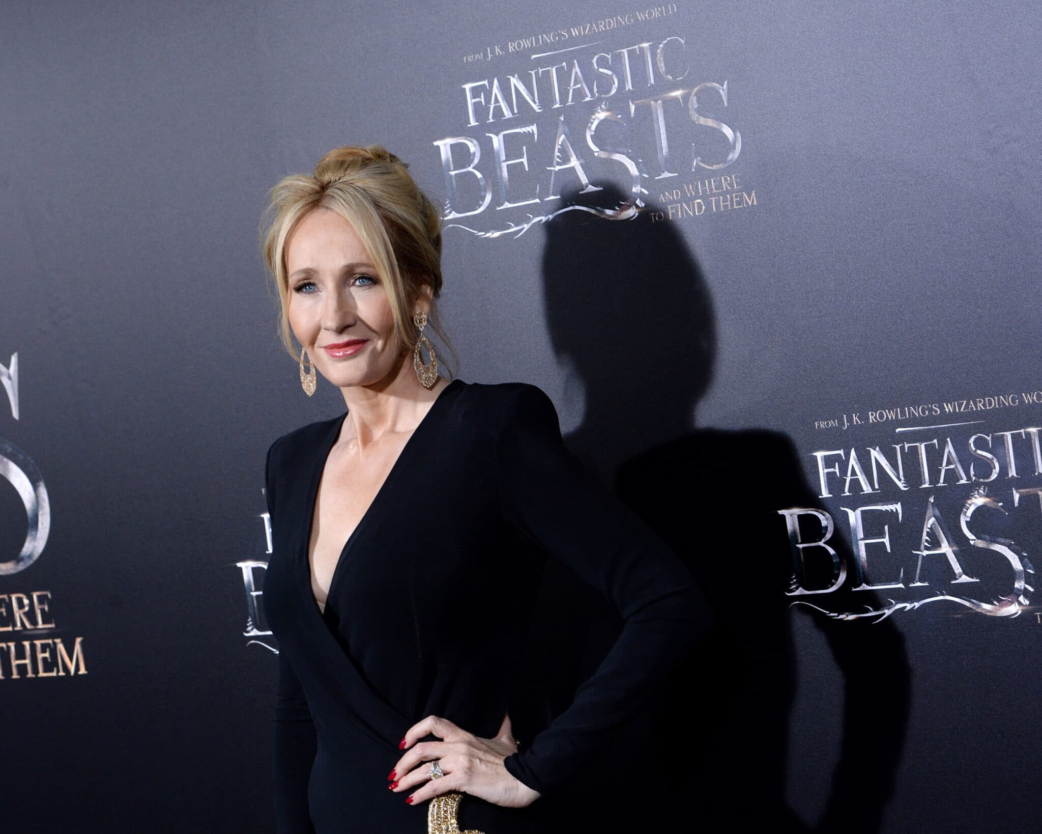JK Rowling attends the Fantastic Beasts And Where To Find Them world premiere in 2016