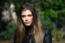 Brazilian trans model Valentina Sampaio. (MIGUEL MEDINA/AFP via Getty Images)
