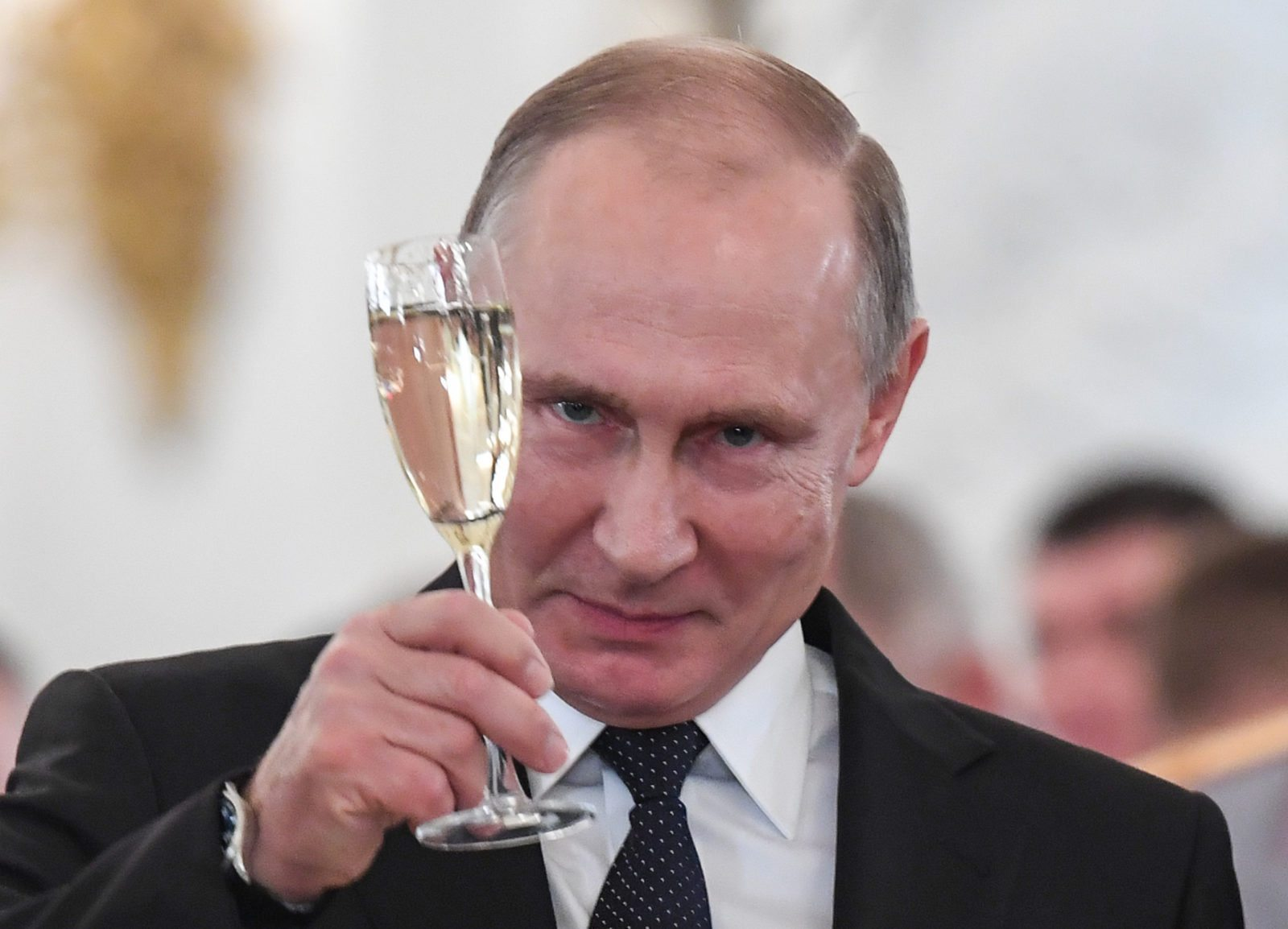 Pussy Riot members had staged the protest to mark Vladimir Putin's birthday